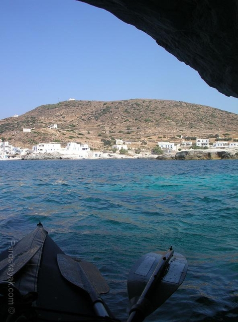 Goupa Kara, a fishing village, east coast of Kimolos island