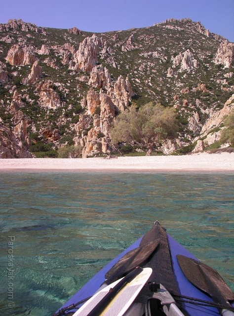 Polyaigos island is uninhabited and it offers unspoiled wilderness.