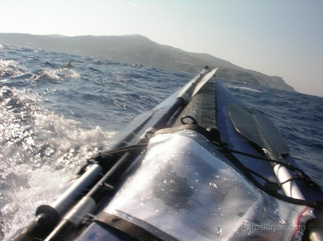Pitching and rolling in the Aegean Sea