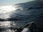 Reflections on the Aegean Sea, 1nm off the NW coast of Folegandros