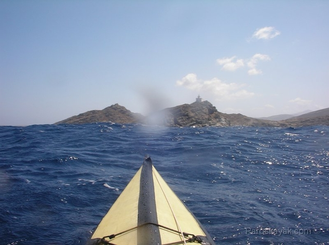 Playboating in Paros