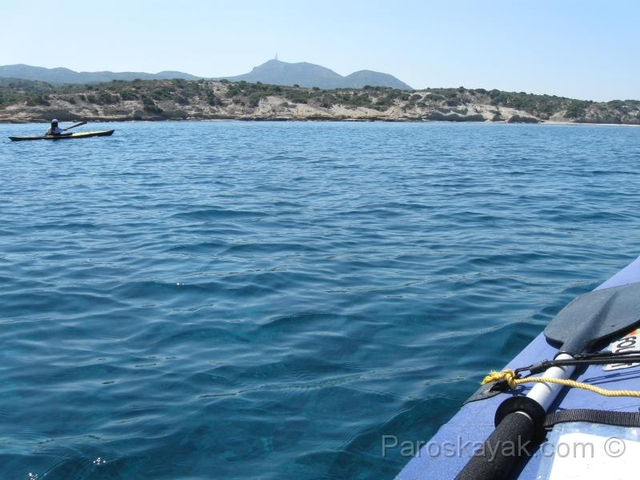 Approaching the island of Kos