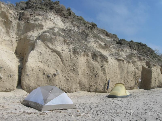 Our campsite in the west coast of Kos island