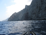Sea kayaking from Nisyros to Tilos island