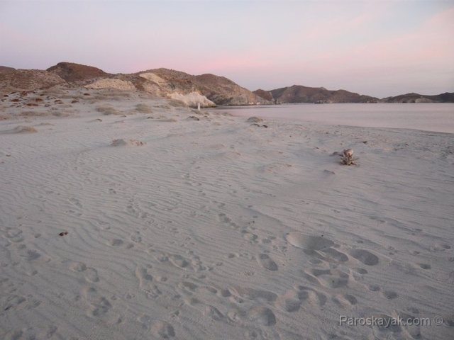 Sand and sky in Baja California Sur
