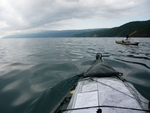 Paddling the North coast of Pelion