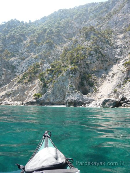 Exploring the coves in East Euboea