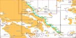 Sea kayaking from Pelion to Cyclades (our charted course)