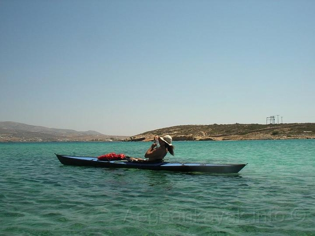 North of Antiparos island