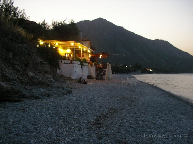 Local taverna in Plakes