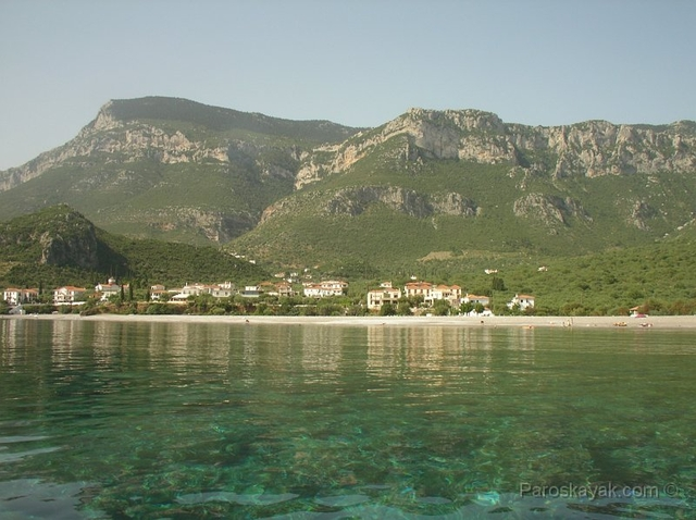 The rugged coast of East Peloponnese