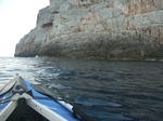 Paddling south to Monemvasia