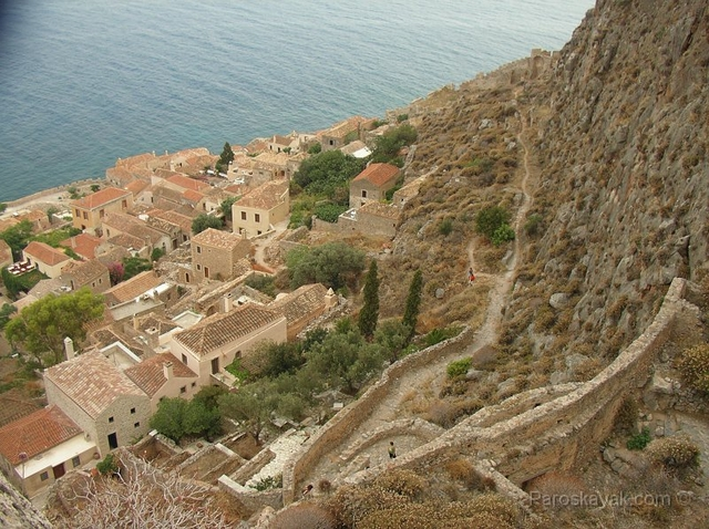 Old Monemvasia town