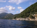 Paddling the West coast of ithaki island