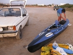 The Folbot GII is a dependable workhorse, not only does it carry a ton of gear, it is a very stable sea kayak.