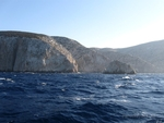 Rounding the cape of North Keros island